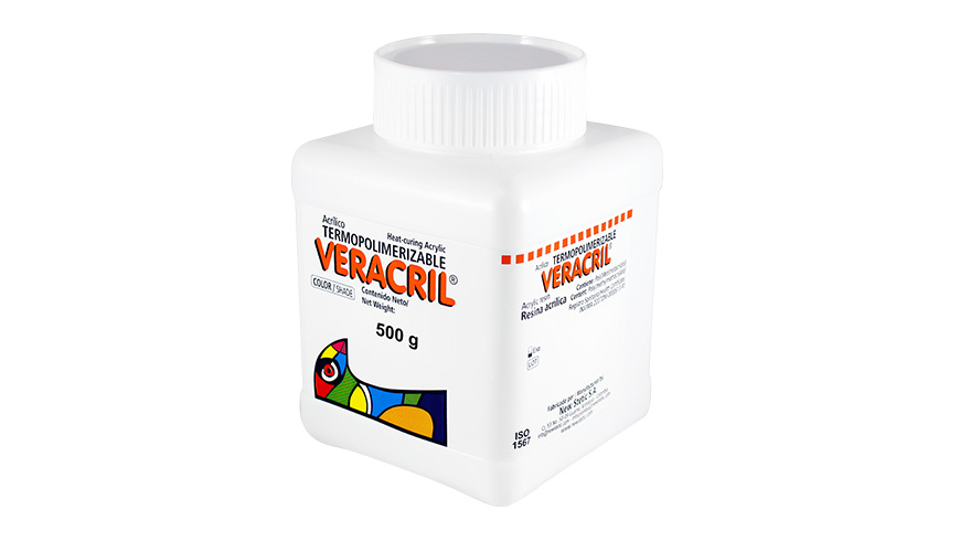 0006 veracril termopolimerizable polimero 500g