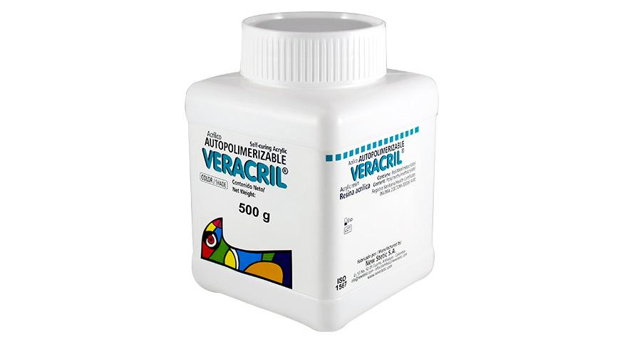 0018 veracril autopolimerizable polimero 500g